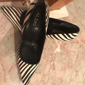 Aldo Shoes - Aldo zebra shoes 35/ 5